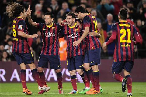 Messi tỏa sáng, Barcelona thắng đậm Almeria