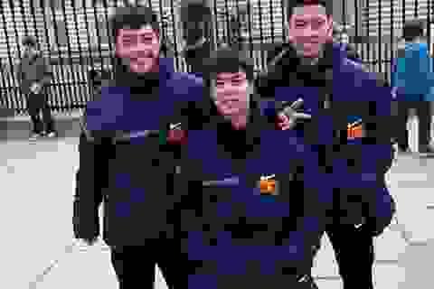 U19 Việt Nam dạo phố London trước trận gặp U19 Arsenal