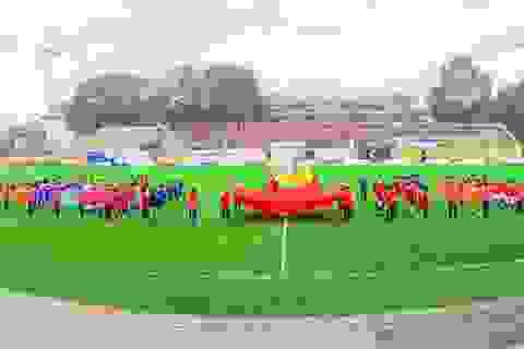 Sôi động Giải bóng đá nam sinh viên Trường ĐHBKHN