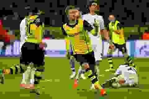 Hạ gục Real Madrid, Dortmund vẫn bị loại cay đắng