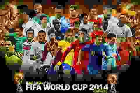 VTV đang xúc tiến mua bản quyền truyền hình World Cup 2014