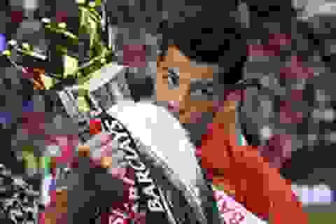 Khoảnh khắc trầm bổng Ronaldo tại Quỷ đỏ MU
