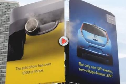Quảng cáo sáng tạo của Nissan