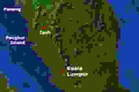 Bán đảo Malaysia đang dịch chuyển bất thường