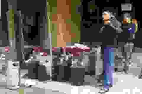 Đại lý gas phát nổ trong khu dân cư