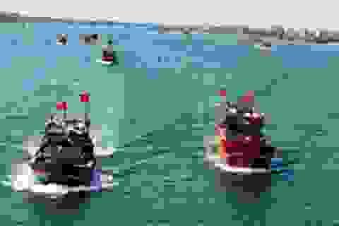 Ý chí bảo vệ chủ quyền biển đảo sục sôi trong lễ hội cầu mùa