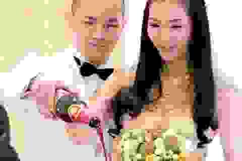 Cận cảnh lễ cưới đẹp như mơ của Á hậu Thùy Trang