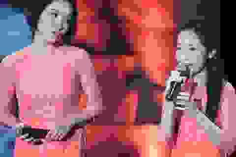 Con gái Mỹ Linh gây bất ngờ khi song ca cùng mẹ