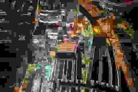 """""""Lạ mắt"""" với hình ảnh London được chụp từ không trung"""