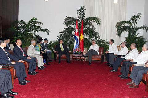 Đưa quan hệ Việt Nam-Cuba tiếp tục đi vào chiều sâu