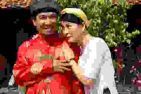 """""""Vợ chồng"""" Quang Thắng- Kim Oanh vất vả chuyện con cái"""