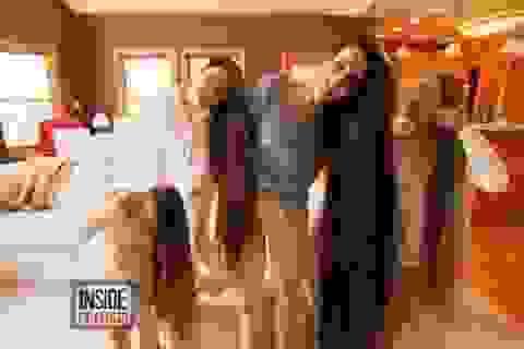 Mẹ con người Mỹ có mái tóc dài hơn 4 mét