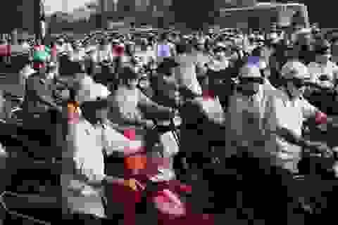 Từ hôm nay, phí đường bộ tăng 1,5 lần đối với xe máy