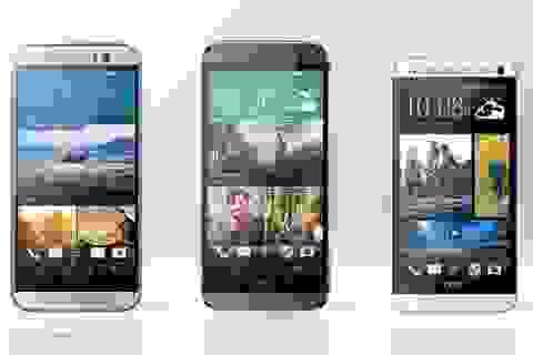 Thất bại với One M9, doanh số bán hàng của HTC chạm mức thấp kỷ lục