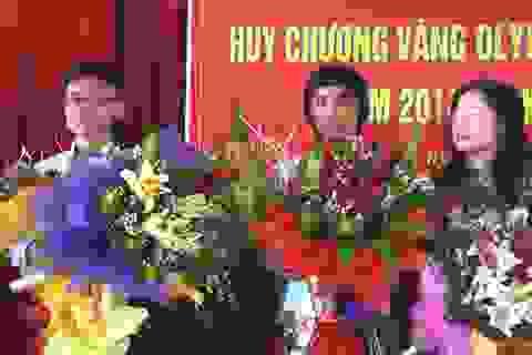 Hai học sinh trường Phan Bội Châu dự thi Olympic Châu Á và Quốc tế