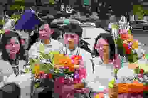 Nồng ấm đón chào chàng trai mang về HCV Olympic Vật lý Châu Á