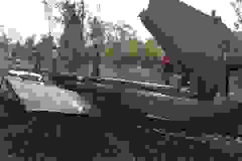 Hệ thống điều khiển bị hư hỏng khiến trực thăng UH-1 gặp nạn