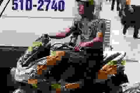Nghệ sĩ Tấn Beo sốc khi được báo nhận lại xe mất trộm