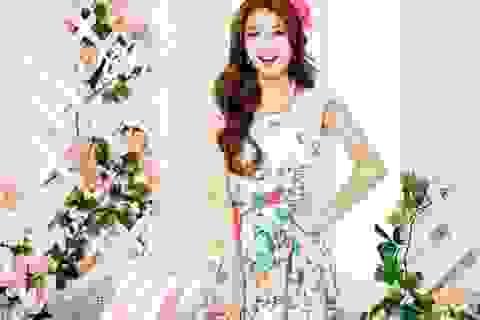 Người đẹp 20 tuổi xứ Hàn khoe vẻ quyến rũ
