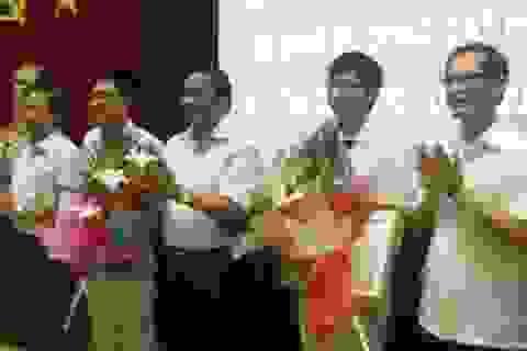 Hà Tĩnh: Tuyên dương 2 thí sinh xuất sắc tại kỳ thi Olympic Toán quốc tế 2013