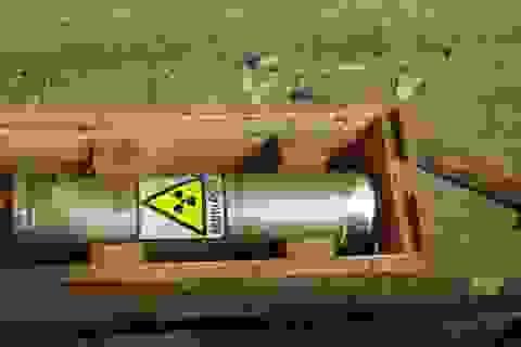Sớm lắp đặt thiết bị giám sát các nguồn phóng xạ di động