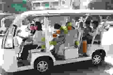 7 ngày đi xe buýt điện miễn phí quanh trung tâm TPHCM