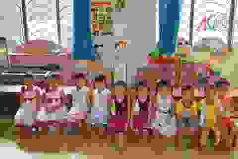 Ngôi trường mẫu giáo có đến 6 cặp sinh đôi