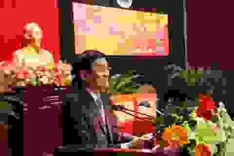 Chủ tịch nước Trương Tấn Sang thăm, chúc tết Tổng cục V - Bộ Công an