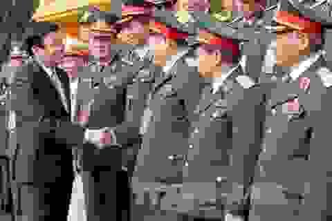 Chủ tịch nước Trương Tấn Sang gặp mặt cựu chiến binh Quân đoàn 2