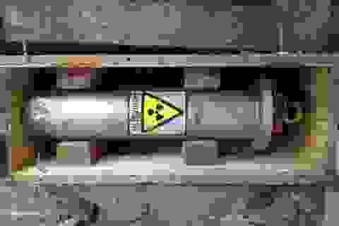 Nguồn phóng xạ thất lạc không ảnh hưởng trực tiếp tới con người