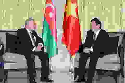 Chủ tịch nước gặp Thủ tướng và Chủ tịch Quốc hội Azerbaijan