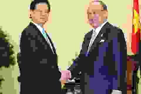 Thủ tướng tiếp cố vấn đặc biệt Liên minh nghị sĩ hữu nghị Nhật- Việt
