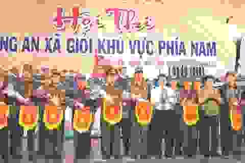 Công an xã thuộc 32 tỉnh, thành tham dự Hội thi Công an xã giỏi khu vực phía Nam
