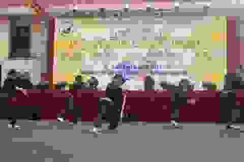 Biểu diễn Võ trận Bình Định trong ngày chiến thắng Đống Đa