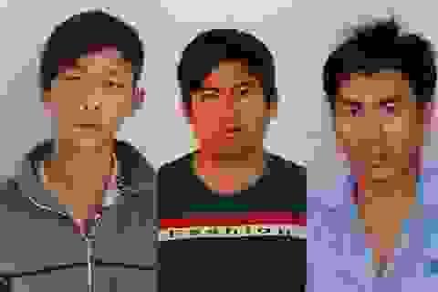 Bắt nhóm trộm xe máy đem sang Campuchia bán