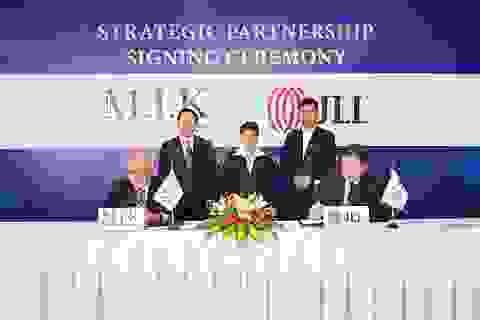 M.I.K Corporation ký kết hợp tác chiến lược cùng BĐS Toàn cầu Jones Lang LaSalle