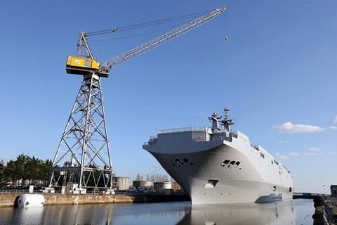 Nga đòi Pháp giải thích chính thức việc chưa giao tàu chiến Mistral