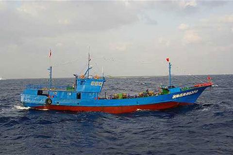 Tàu cá Trung Quốc chìm gần Hàn Quốc, 10 người mất tích