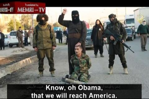 IS dọa sát hại Tổng thống Obama ngay tại Nhà Trắng