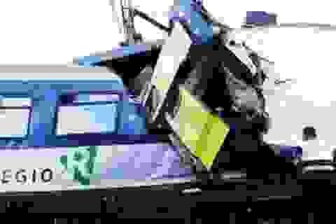 Hai tàu hỏa Thụy Sỹ đâm nhau, 1 người chết