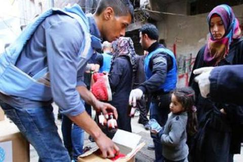 IS chiếm đóng phần lớn khu trại tị nạn Palestine ở thủ đô Syria