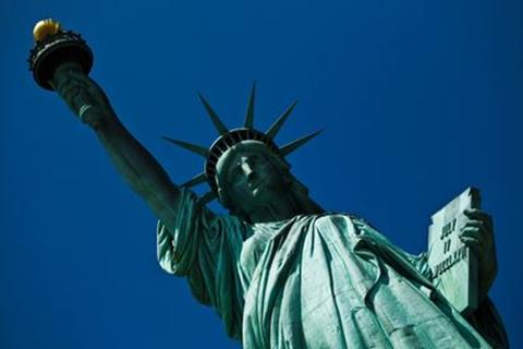 Mỹ: Tượng Nữ thần Tự do bị dọa đánh bom