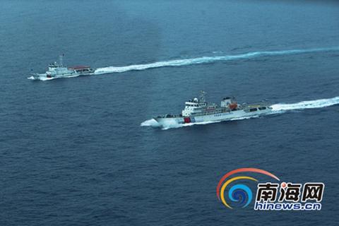 Trung Quốc điều 2 tàu cỡ lớn tuần tra trái phép quần đảo Hoàng Sa