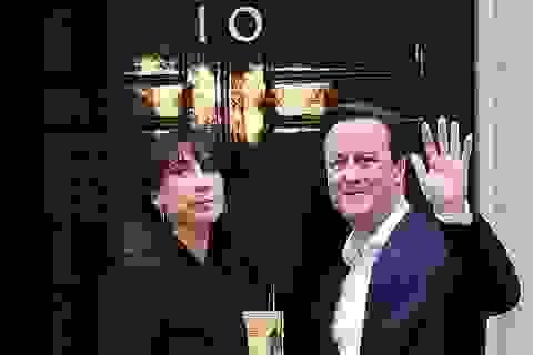 Đảng của Thủ tướng David Cameron bất ngờ thắng lớn trong cuộc tổng tuyển cử Anh
