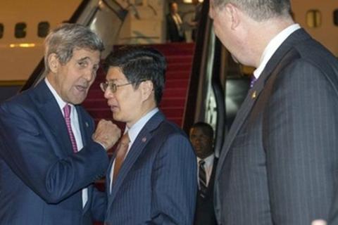 Ngoại trưởng Mỹ đến Bắc Kinh, kêu gọi Trung Quốc kiềm chế trên Biển Đông