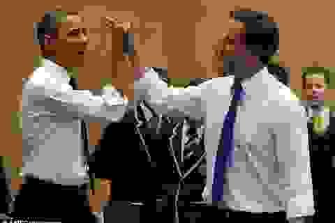 """Tổng thống Obama """"tự hào"""" về mối quan hệ với Thủ tướng Cameron"""