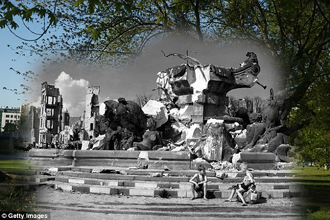 """Thủ đô Berlin """"thay áo mới"""" 70 năm sau Thế chiến II"""