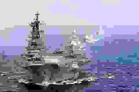 Tàu chiến Ấn Độ đến Biển Đông tập trận cùng các nước ASEAN
