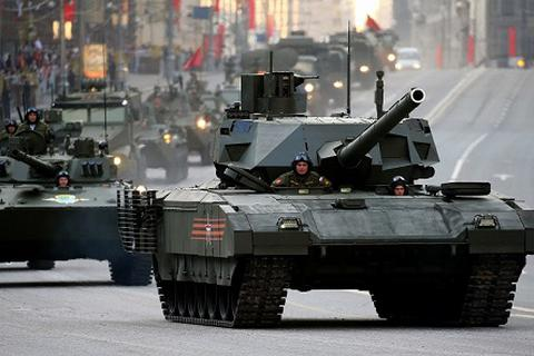 """Nga: """"Siêu tăng"""" Armata bỏ xa phương Tây tới 20 năm"""