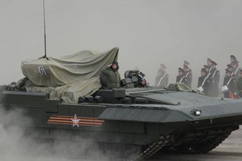 Siêu tăng Armata có thể được nâng cấp thành robot chiến đấu